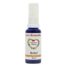 RELIEF Vitalspray 15 ml Australian Flower Essences Love Remedies