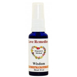 WISDOM Vitalspray 15 ml Australian Flower Essences Love Remedies