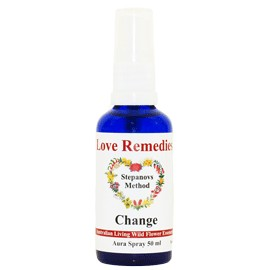 CHANGE Auraspray 50 ml Australian Flower Essences Love Remedies