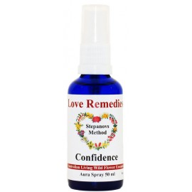CONFIDENCE Fiducia auraspray 50 ml Australian Bush Flower Essences Love Remedies