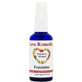 FEMININE Auraspray 50 ml Australian Flower Essences Love Remedies