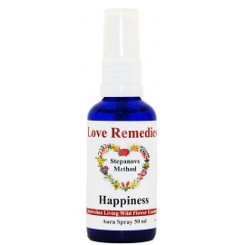 HAPPINESS Felicità auraspray 50 ml Australian Bush Flower Essences Love Remedies