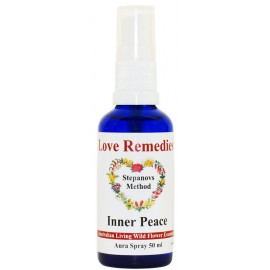 INNER PEACE Tranquillità auraspray ml Australian Bush Flower Essences Love Remedies