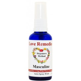 MASCULINE Auraspray 30 ml Australian Flower Essences Love Remedies