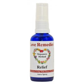 RELIEF Auraspray 50 ml Australian Flower Essences Love Remedies