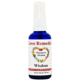 WISDOM Sagezza auraspray 50 ml Australian Flower Essences Love Remedies