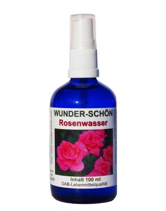 Rosenwasser 100ml aus kontrolliert biologischem Anbau