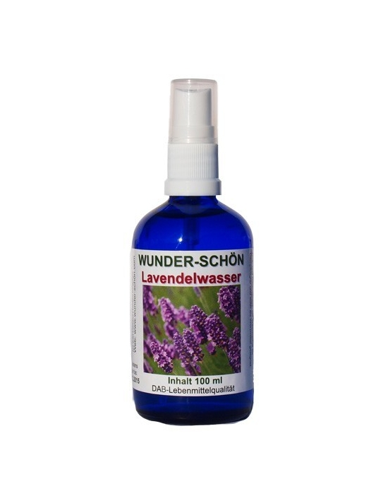 Bio Lavendelwasser 100 ml pures Hydrolat ohne Zusätze