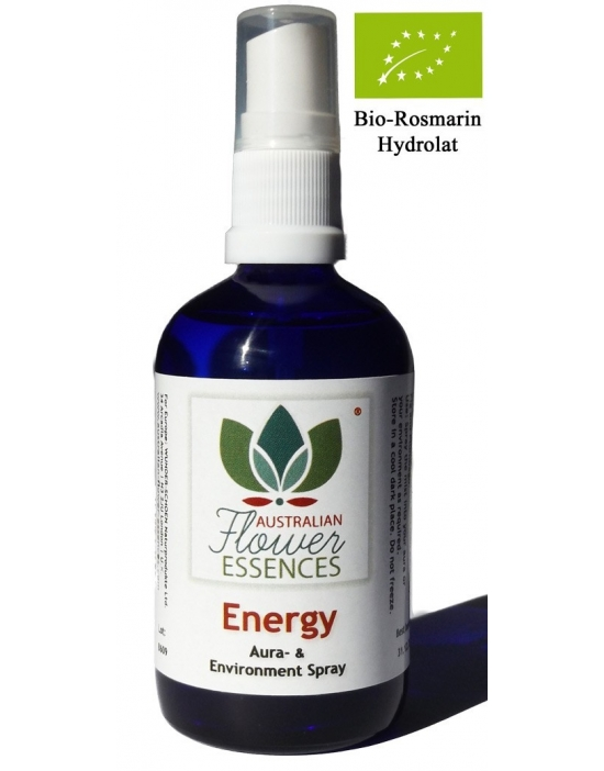 ENERGY spray ambientale 100 ml Australian Flower Essences Love Remedies