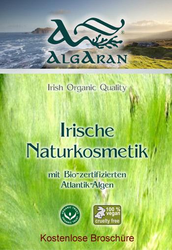 Irische Bio Naturkosmetik von Algaran mit hochwertigem Algenextrakt